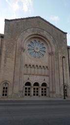 This is a massive church.